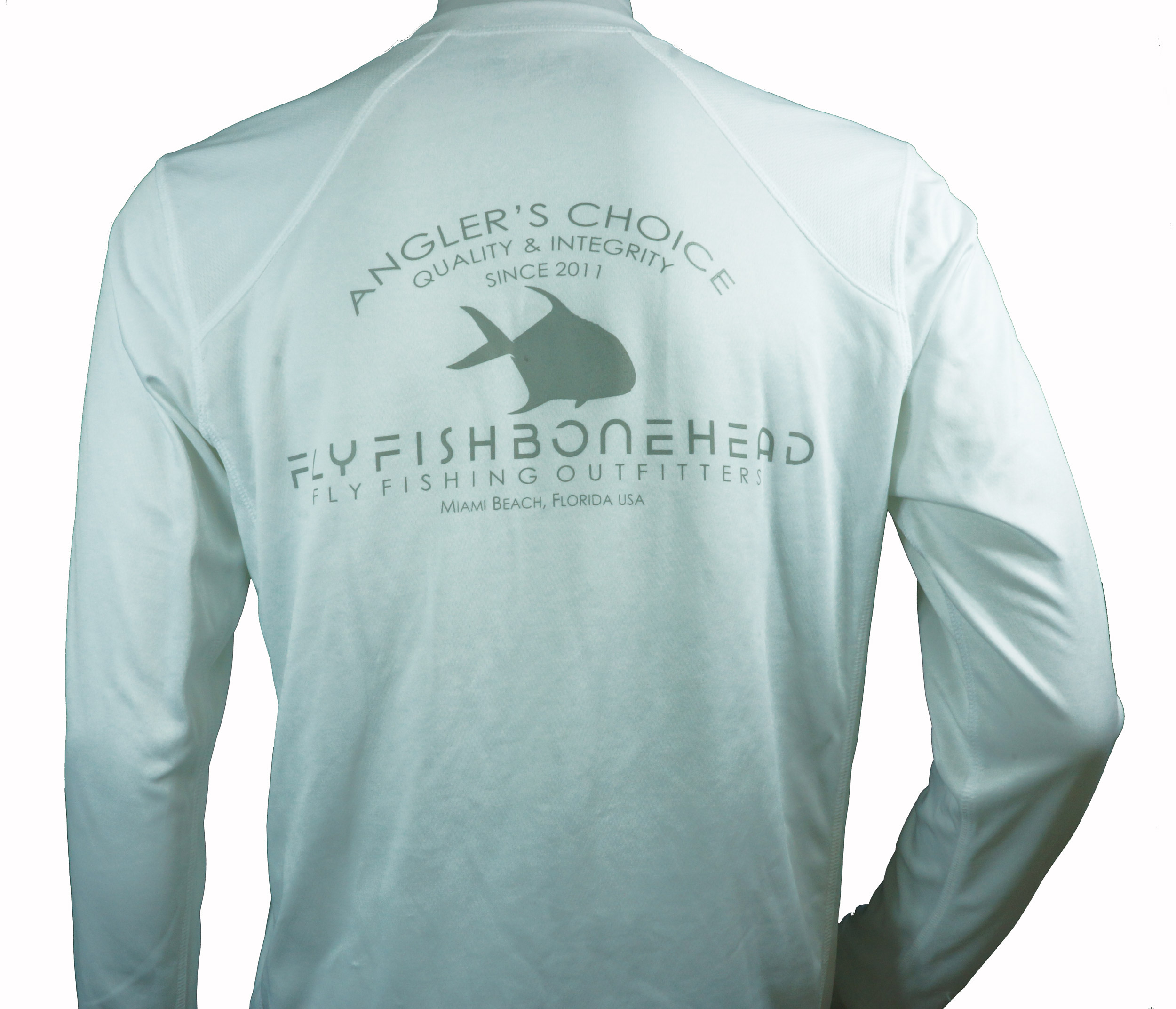 flyfishbonehead new balance tech shirt for fly fishing in the tropics