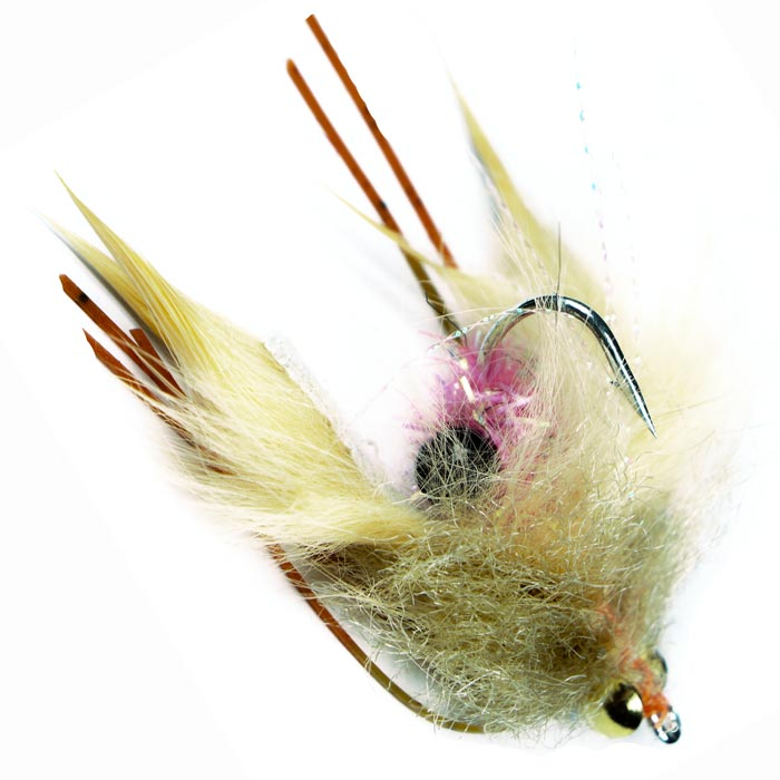 kung fu crab for permit and bonefish - flyfishbonehead premium flies for bonefish and permit