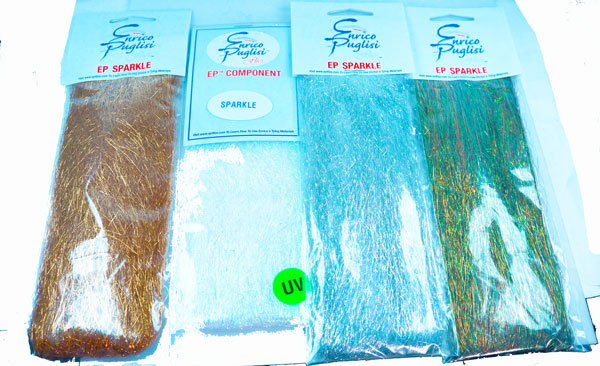 EP-Sparkle-Fibers-and other premium fly tying materials - flyfishbonehead fly shop