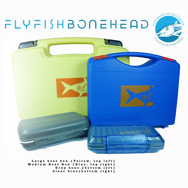 boat boxes and fly boxes on sale at flyfishbonehead - store your bonefish and permit flies