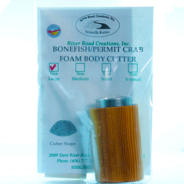 bonefish and permit crab cutter - fly tying material and tools