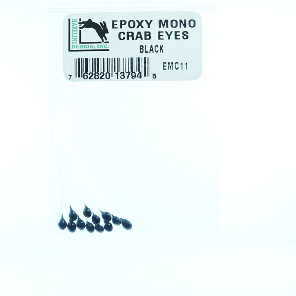 epoxy mono crab eyes by hareline dubbin
