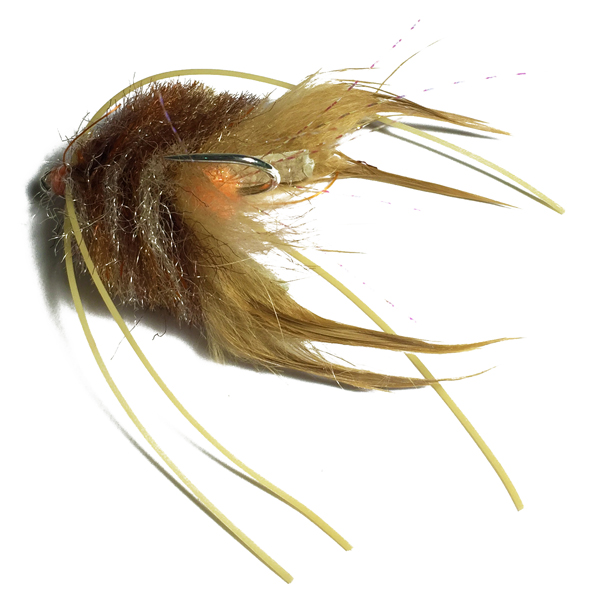 Red Fu - Redfish Crab - SALT premium flies