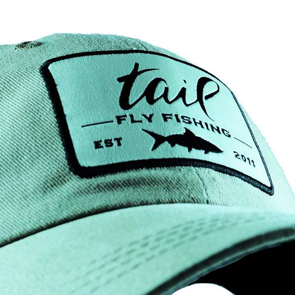 premium brushed twill ball cap close up