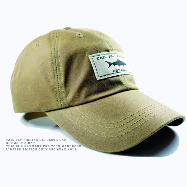 oil cloth cap fly fishing gear flyfishbonehead
