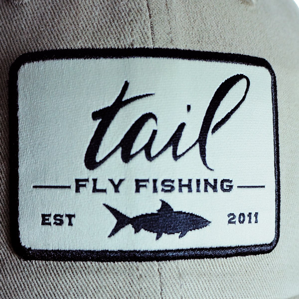 brushed cotton hat patch detail
