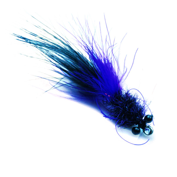 black & purple tarpon toad - best tarpon flies by SALT Premium Flies